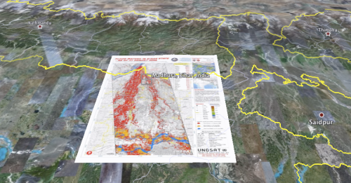 Bihar flood maps available for overlay in Google Earth on nasa flood map, google listing, live flood map, geographic information system flood map, world flood map, search flood map, google scholar, google property search, al gore flood map,