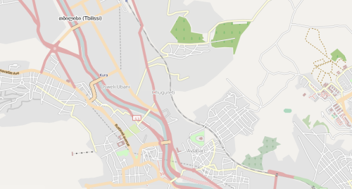 Open Street Map - Tbilisi