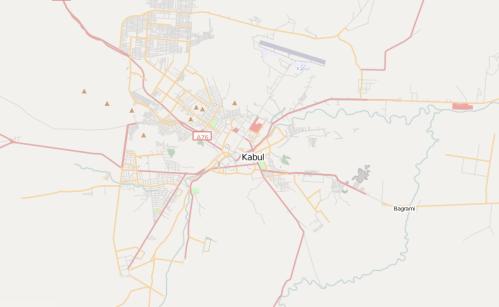 Open Street Map - Kabul